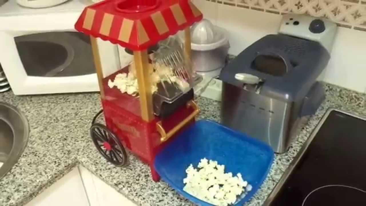 Máquina de hacer palomitas de maíz \