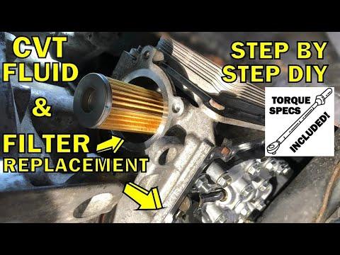 2013-2018 Nissan Altima CVT Fluid & Filter Replacement