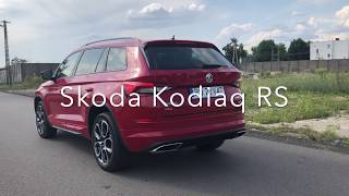 2019 Skoda Kodiaq RS Launch Control, Revs & Exhaust Sound