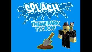 How to edit terrain and water in Theme Park Tycoon 2 [ROBLOX TPT2]