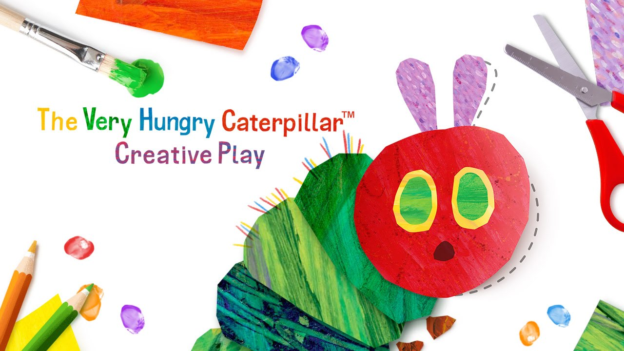 The Very Hungry Caterpillar Creative Play Out Now On The App