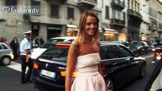 Trendsetters at Emilio Pucci S/S 2014: F People | MILAN Fashion Week MFW |  FashionTV