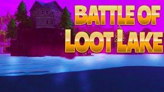 BATTLE OF LOOT LAKE (Fortnite Battle Royale)
