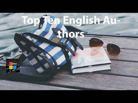 Top Ten English Authors