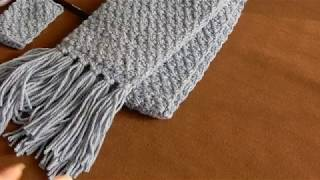 How To Finish a Crochet Scarf