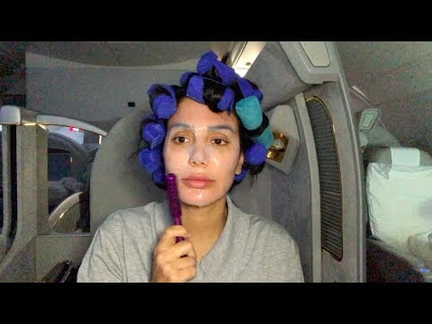 Full Glam Tutorial... On A Plane thumbnail