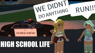 ARRESTING EVERYONE IN HIGH SCHOOL LIFE|ROBLOX EXPLOITING