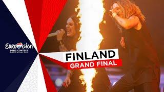 Blind Channel - Dark Side - LIVE - Finland 🇫🇮 - Grand Final - Eurovision 2021