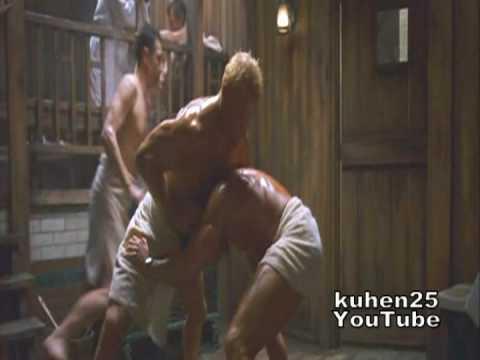Download Van Damme Vs Russian giant (Stefanos Miltsakakis) in sauna