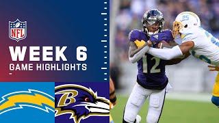 Chargers vs. Ravens Week 6 Highlights   NFL 2021