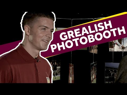 Photobooth: Jack Grealish interview