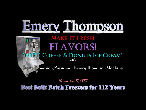 Make It Fresh! Flavors - NYPD Coffee & Donuts Ice Cream