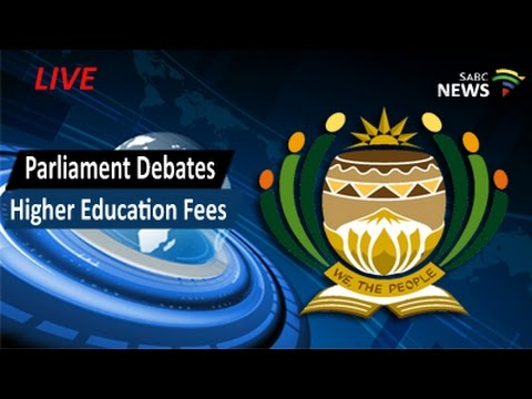 Parliament Debate on Higher Education Fees, State Capture, 08 September 2016