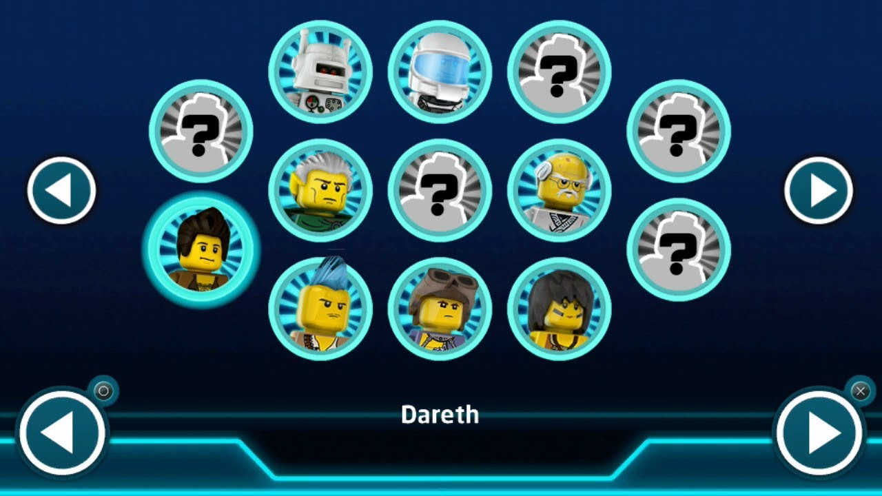 lego ninjago nindroids  dareth  free play gameplay