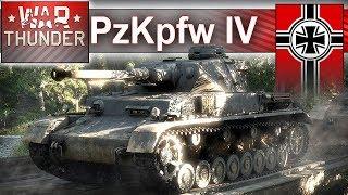 Panzerkampfwagen IV - to jest wymiatacz - ale w War Thunder :)