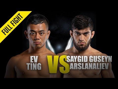 "Ev Ting vs. ""Dagi"" Arslanaliev | ONE Full Fight | February 2019"