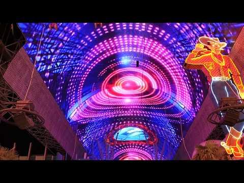 Viva Vision light show Fremont Street Experience in Downtown Las Vegas
