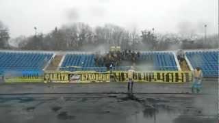 Ультрас Буковина Чернівці - зірка Кіровоград 08.04.12