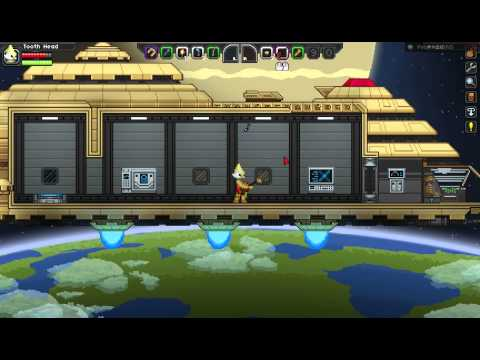 Space Oddity in Starbound using ABC Notati