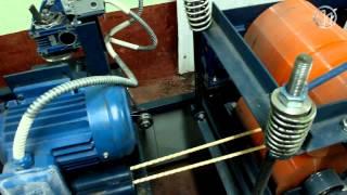 Стеклопластиковая арматура АСПРр(Показан процесс производства стеклопластиковой арматуры на ГП