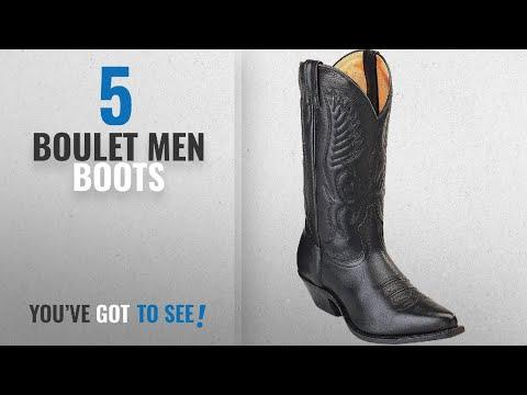 00dd6123bb8 Top 10 Boulet Men Boots [ Winter 2018 ]: Boulet Men's Fancy Stitched ...