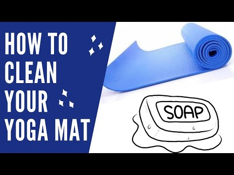 How To Easily Clean Your Dirty Hot Yoga Mat
