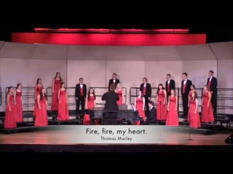 Fire, fire, my heart., Thomas Morley