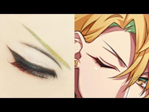 Hifumi Izanami From Hypnosis Mic | Tutorial: Anime Eye Makeup 278