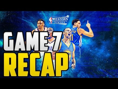 Warriors vs Thunder Game 7 Recap! | Is Kevin Durant To Blame? #GSWvsOKC