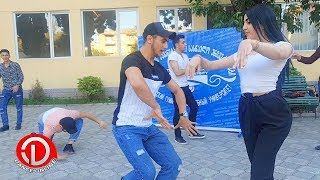 Gurcu universitetinde hamini heyran qoyan Azerbaycan telebeleri ❤ LEZGINKA 2019