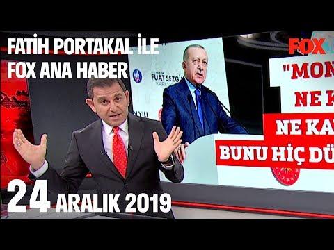 24 Aralık 2019 Fatih Portakal Ile FOX Ana Haber