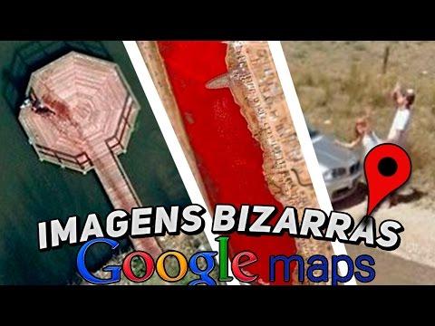 AS IMAGENS MAIS BIZARRAS ENCONTRADAS NO GOOGLE MAPS