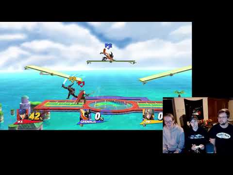 Super Smash Bros. (with Mitch and Hunter from Permanent Vacation)