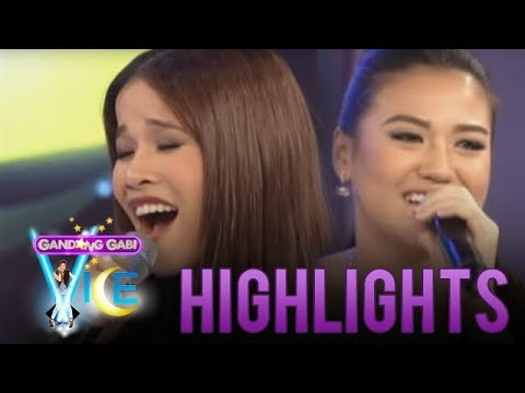 Vocal showdown of Klarisse and Morissette