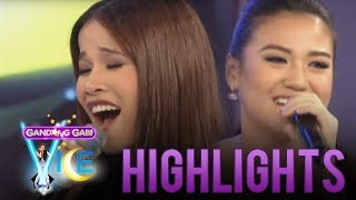 Repeat youtube video Vocal showdown of Klarisse and Morissette