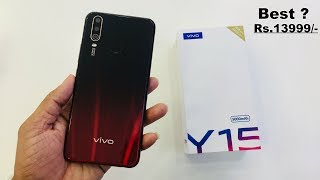 Vivo Y15 2019 price specifications and full Review In Hindi