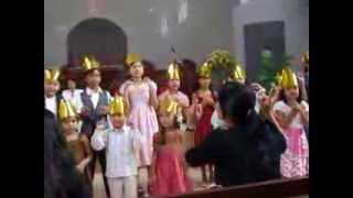 Acara Sabat ke-13 Anak anak di Gereja Advent Teladan Medan