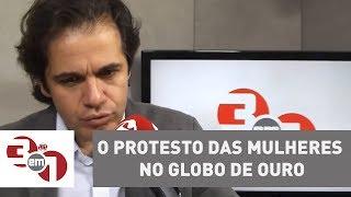 O protesto das mulheres no Globo de Ouro