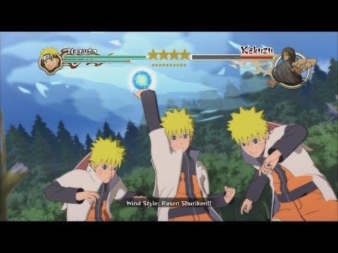 Naruto Ninja Storm 2 Trilogy PC MOD Walkthrough Part 12 60 FPS - Hokage Naruto vs Edo Kakuzu 1080p