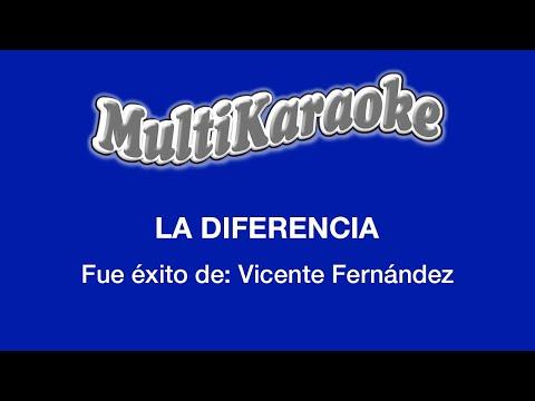 Multi Karaoke - La Diferencia