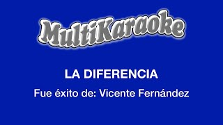 La Diferencia - Multikaraoke