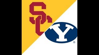 BYU USC Football Game Highlights 9/14/19