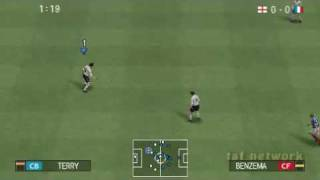Pro Evolution Soccer 2009 PSP Opening and Gameplay 1/2