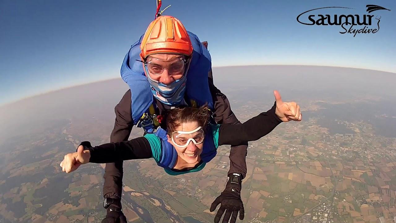 parachutisme saumur 49