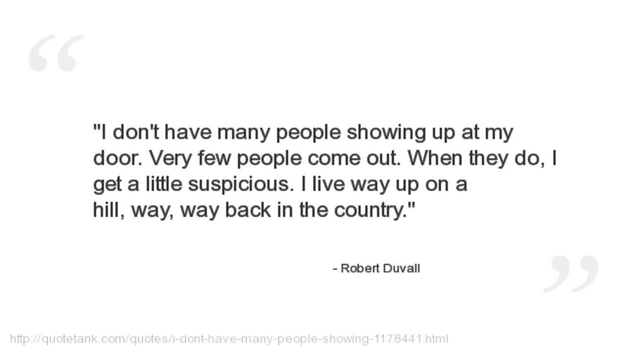 Robert Duvall Quotes