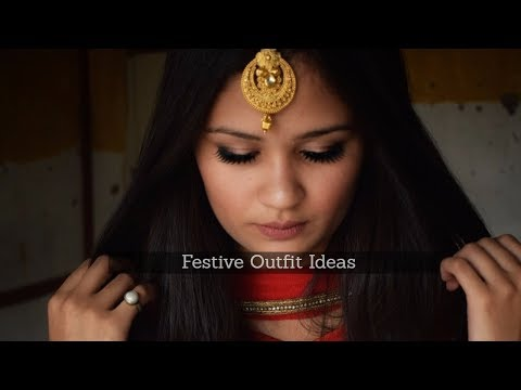 Festive Outfit Ideas | ethnic outfit | Festive Lookbook