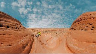 Garmin VIRB 360: Mountain Biking Bartlett Wash, Moab, UT