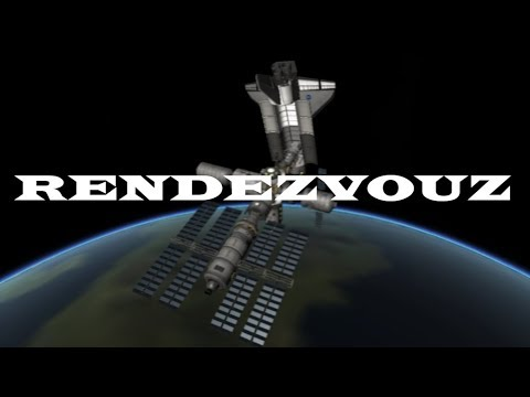 """Rendezvous and Docking Tutorial! Kerbal Space Program """"Ketchup Technique"""""""
