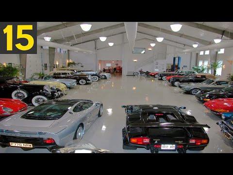 Top 15 Most Insane Luxury Garages
