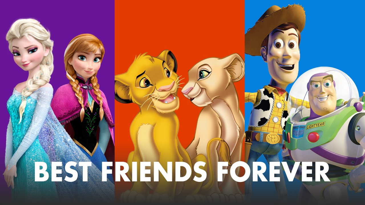 Best Friends Forever Supercut | Oh My Disney - YouTube